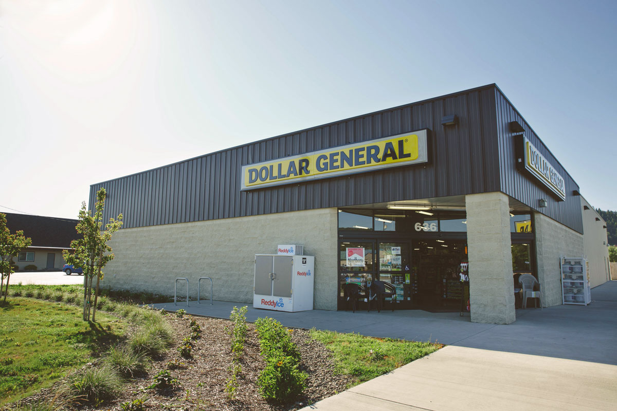 Dollar general store sutherlin oregon ie engineering for Store building design