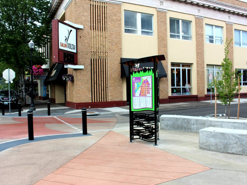 DOWNTOWN ROSEBURG KIOSKS
